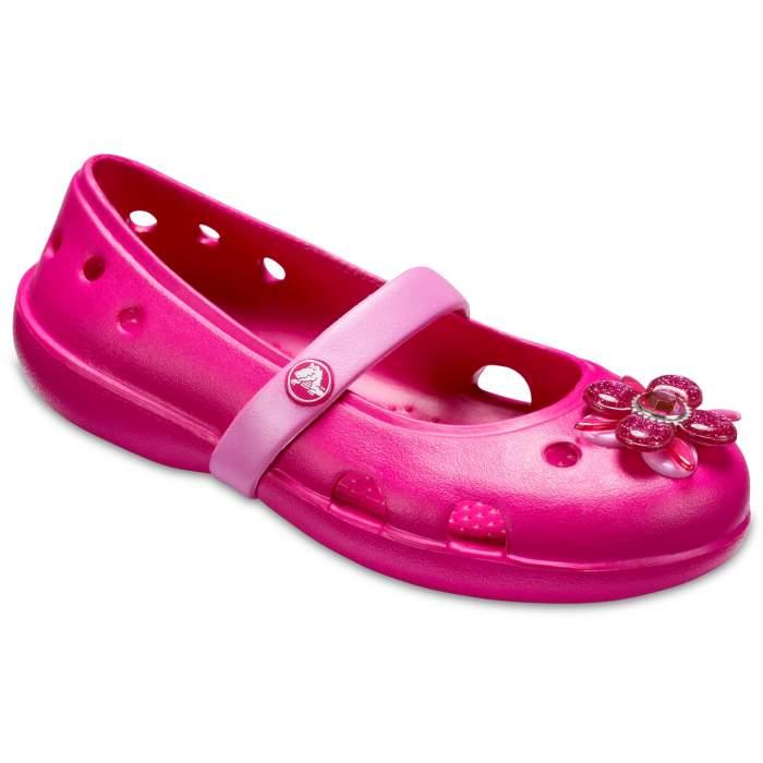 Crocs Kids' Crocs Keeley Springtime Flats Red