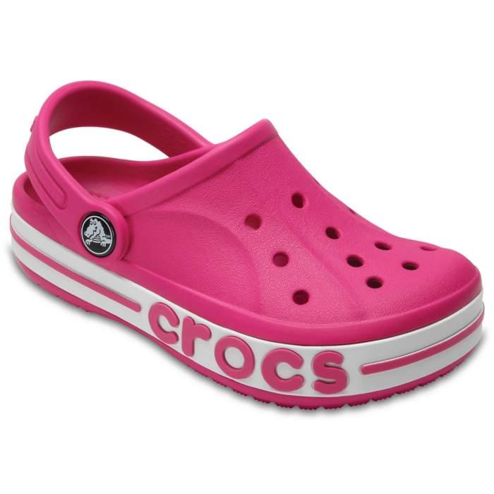 Crocs Kids' Bayaband Clogs Red