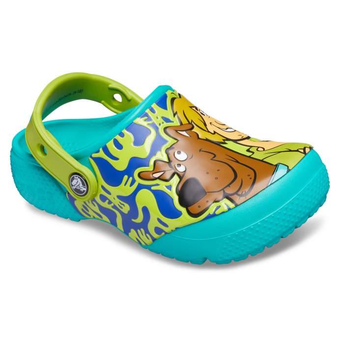 9a3cd84d5b91ea Crocs Tropical Teal Kids  Crocs Fun Lab Scooby-Doo Clogs