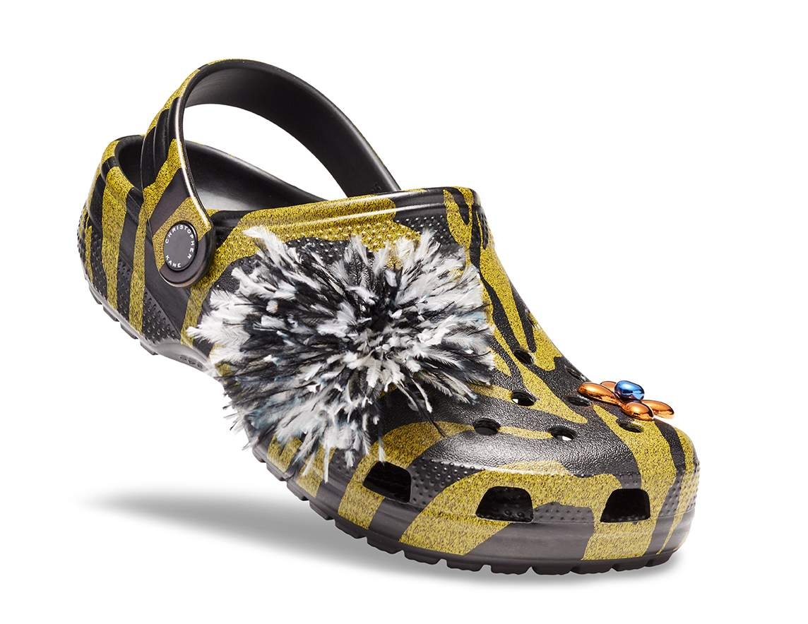 Christopher Kane x Crocs Honey Tiger Clogs