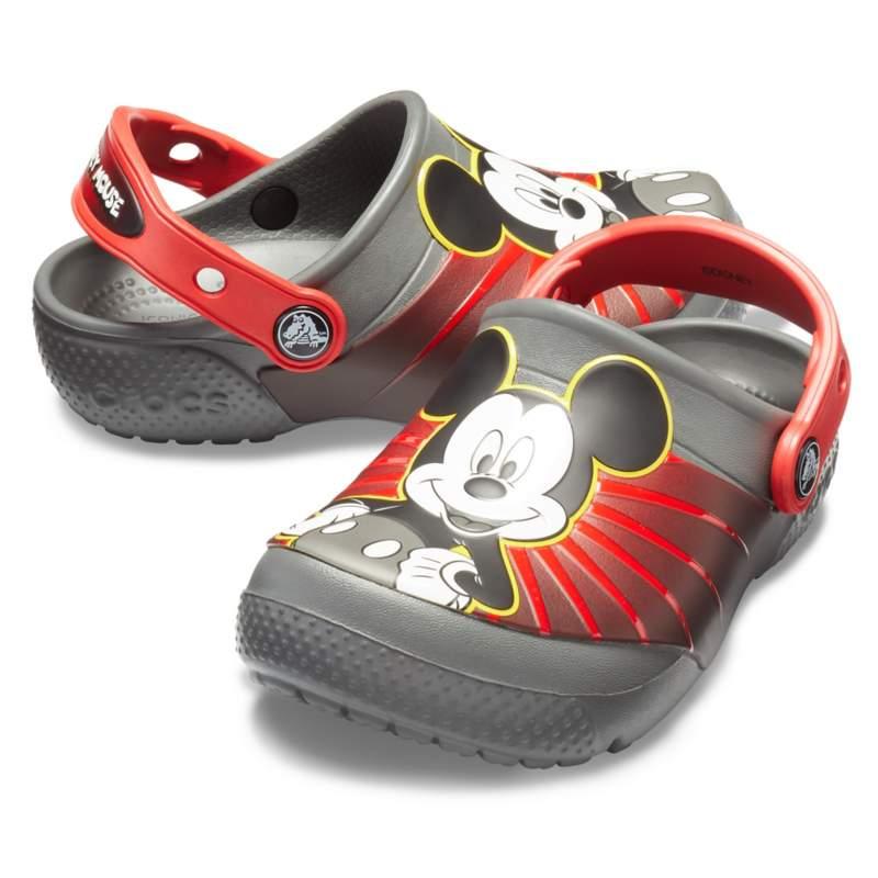 【クロックス公式】 クロックス ファン ラブ ミッキー 90th クロッグ キッズ Kids' Crocs Fun Lab Mickey 90th Clog ユニセックス、キッズ、子供用、男の子、女の子、男女兼用 グレー/グレー 15.5cm,16.5cm,17.5cm,18cm,18.5cm,19cm,19.5cm,20cm,21cm clog クロッグ サンダル