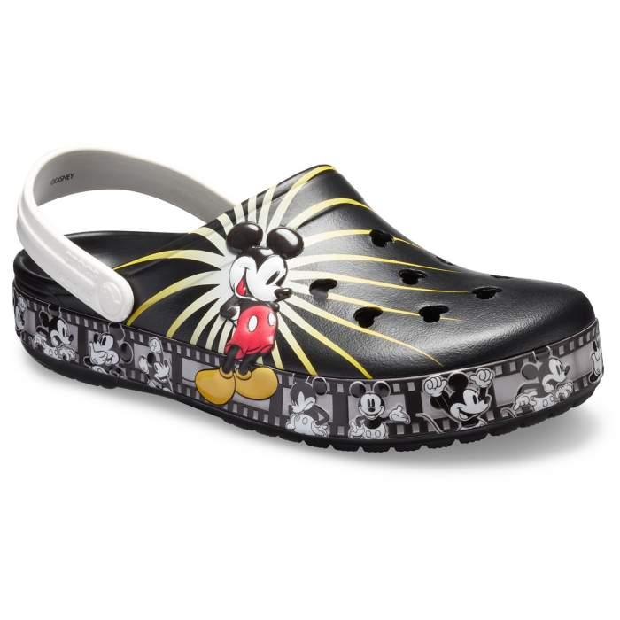 72e2b63b506f18 Crocs Black Crocband Mickey 90Th Clog