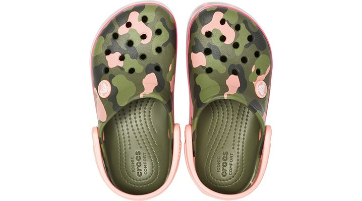Crocs Kids/' Crocband™ Multi-Graphic Clog Children Girls Boys-Choose size//color