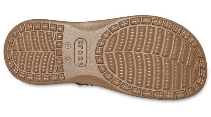 Crocs Mens Santa Cruz Canvas Flip
