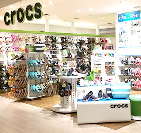 Crocs storefront. Your local Shoe Store in 東京都, .