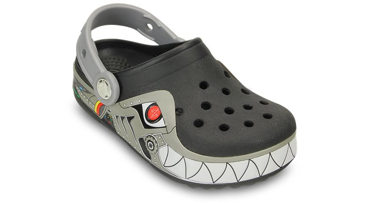 CrocsLights Robo Shark Clog