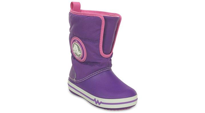 Kids' CrocsLights Gust Boot (children's)