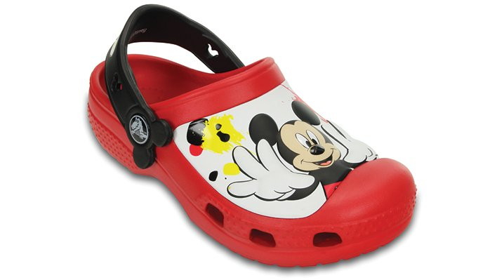 Creative Crocs Mickey™ Paint Splatter Clog