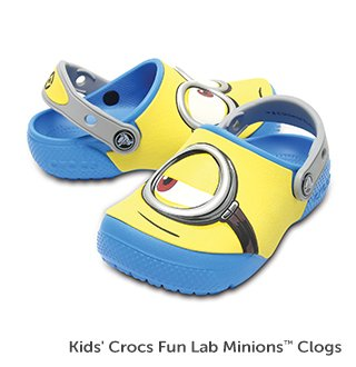 Kids' Crocs Fun Lab Minions Clog