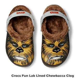 Crocs Fun Lab Lined Chewbacca Clog
