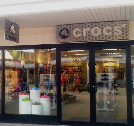 Crocs storefront. Your local Shoe Store in Michigan City, IN.