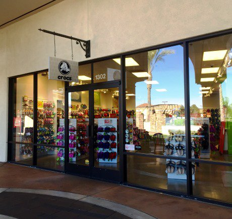 Crocs storefront. Your local Shoe Store in Camarillo, CA.