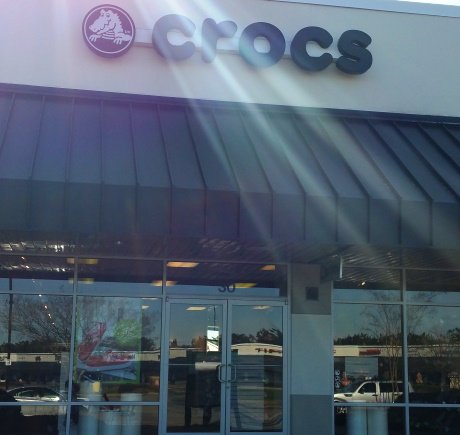 Crocs storefront. Your local Shoe Store in Smithfield, NC.
