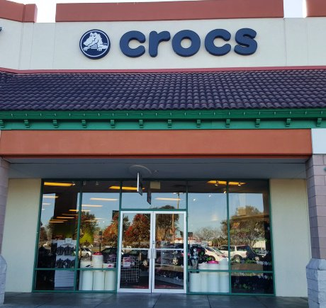Crocs storefront. Your local Shoe Store in St. Augustine, FL.