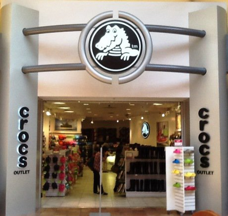 Crocs storefront. Your local Shoe Store in Milpitas, CA.