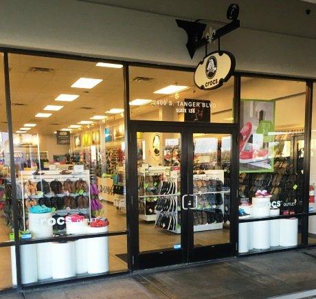 Crocs storefront. Your local Shoe Store in Gonzales, LA.
