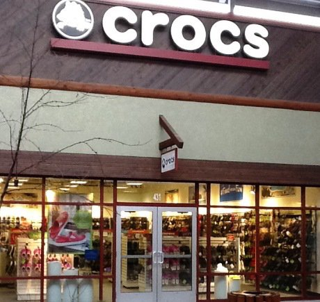 Crocs storefront. Your local Shoe Store in Baraboo, WI.