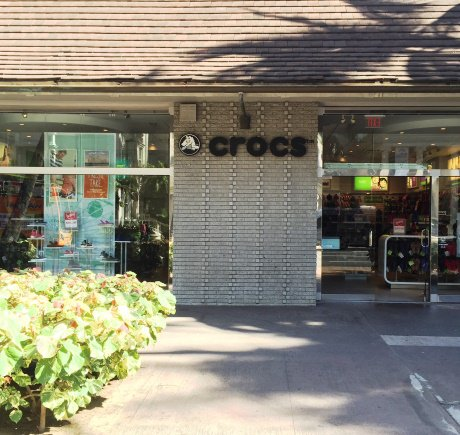 Crocs storefront. Your local Shoe Store in Honolulu, HI.