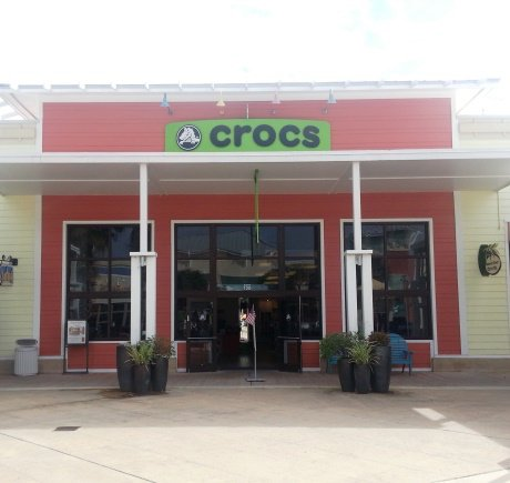 Crocs storefront. Your local Shoe Store in Panama City Beach, FL.