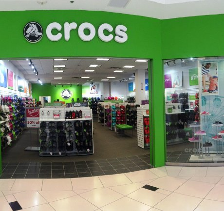 Crocs storefront. Your local Shoe Store in Novi, MI.