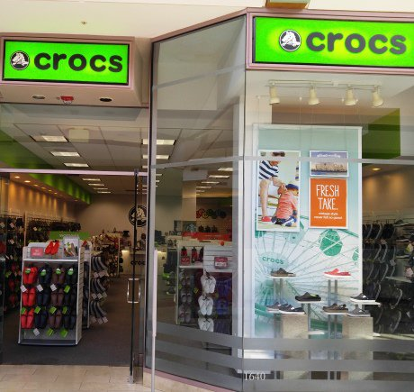 Crocs storefront. Your local Shoe Store in Annapolis, MD.