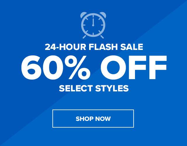 Flash sale! upto 60% off!