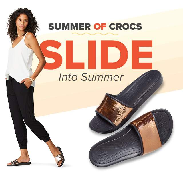SLIDE INTO SUMMER!