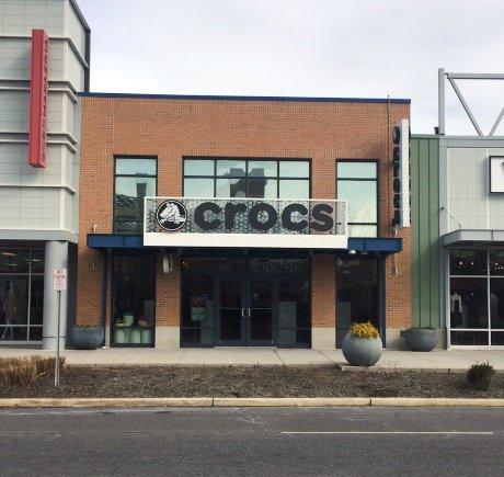 Crocs storefront. Your local Shoe Store in Atlantic City, NJ.