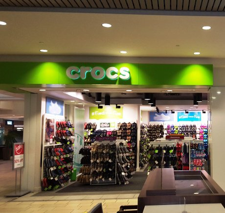 Crocs storefront. Your local Shoe Store in Corpus Cristi, TX.
