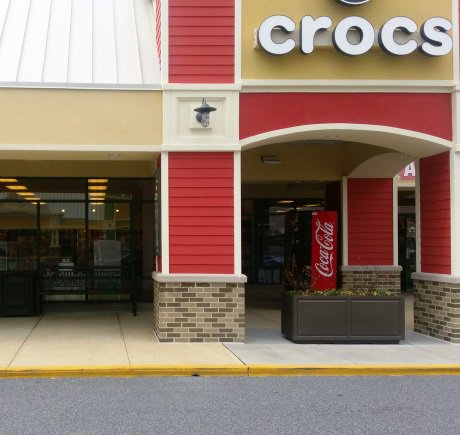 Crocs storefront. Your local Shoe Store in Ocean City, MD.