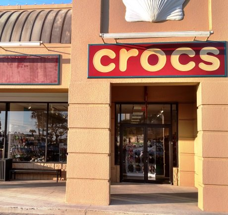 Crocs storefront. Your local Shoe Store in Destin, FL.