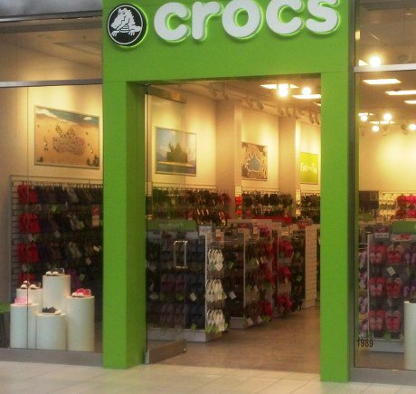 Crocs storefront. Your local Shoe Store in Niagara Falls, NY.