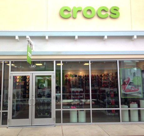 Crocs storefront. Your local Shoe Store in Lutz, FL.