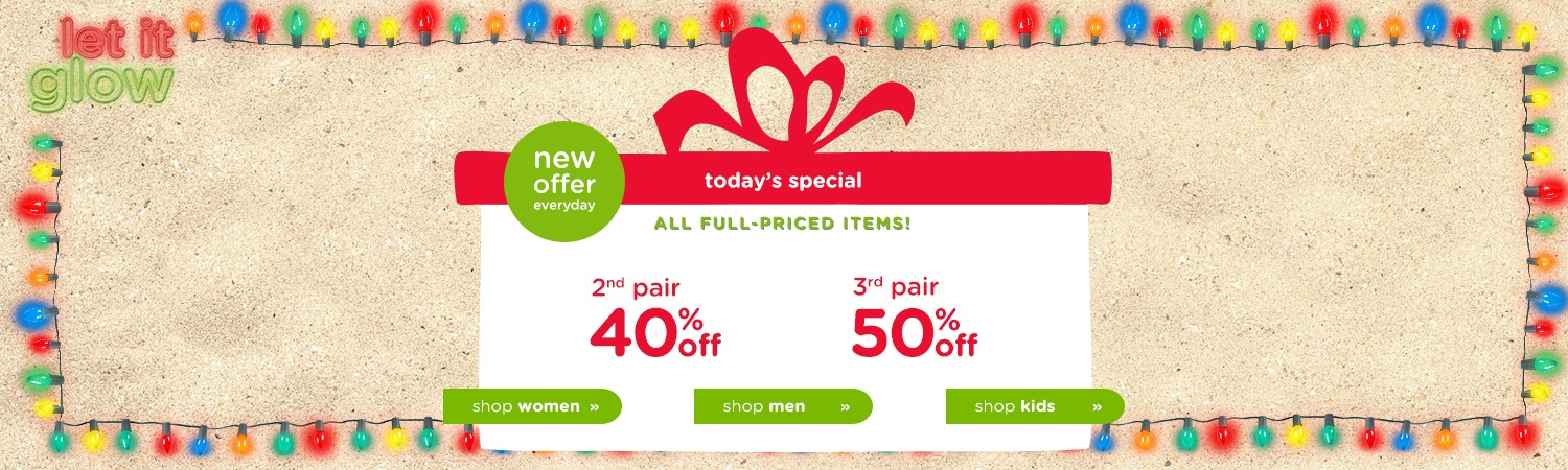 Save 50% off on full priced items at Crocs Australia.