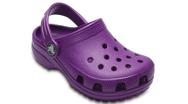 Crocs Amethyst Kids' Classic Clog Shoes