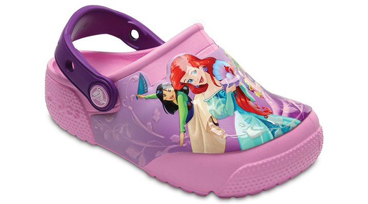 Crocs Amethyst Kids' Crocs Fun Lab Lights Princess™ Clog Shoes