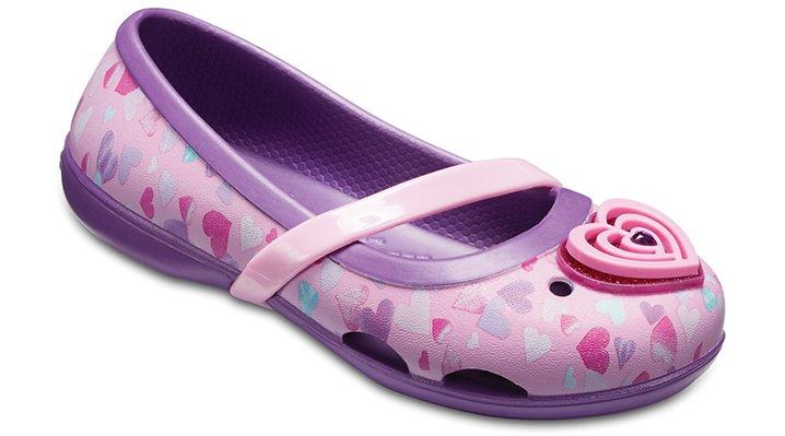 Crocs Amethyst Kids' Crocs Lina Flats Shoes 20504057H