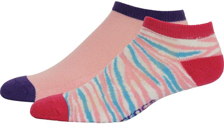 Crocs Animal Adults' Low Fashion Socks 2-Pack Shoes