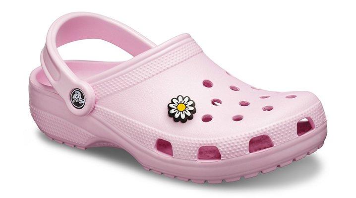 Crocs Ballerina Pink Classic Clog Shoes