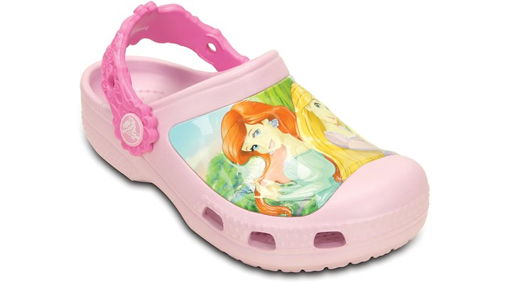 Crocs Ballerina Pink / Party Pink Kids' Creative Crocs Princess Friends Clog Shoes
