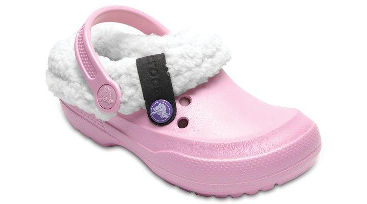 Crocs Ballerina Pink / Stucco Kids' Classic Blitzen Ii Clog Shoes