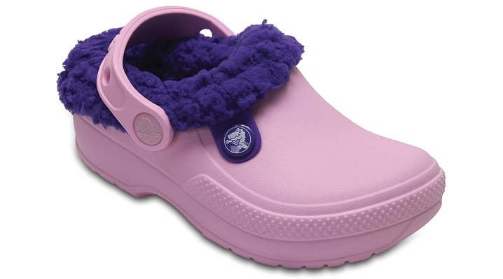 Crocs Ballerina Pink/Ultraviolet Kids' Classic Blitzen Iii Clog Shoes
