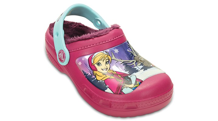 Crocs Berry Kids' Creative Crocs Frozen™ Fuzz Lined Clog Shoes