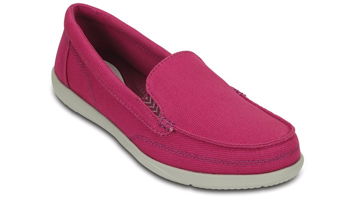 Crocs Berry Women's Walu Ii Canvas Loafer Shoes