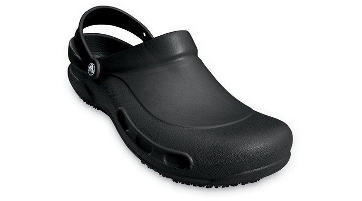 Crocs Black Bistro Comfortable Work Shoes