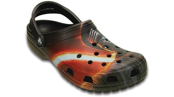 Crocs Black Classic Star Wars™ Kylo Ren™ Clog Shoes