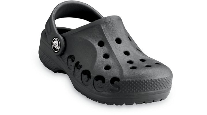 Crocs Black Kids' Baya Kids' Comfortable Clogs