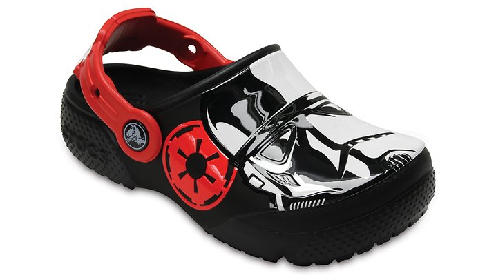 Crocs Black Kids' Crocs Fun Lab Stormtrooper™ Clog Shoes