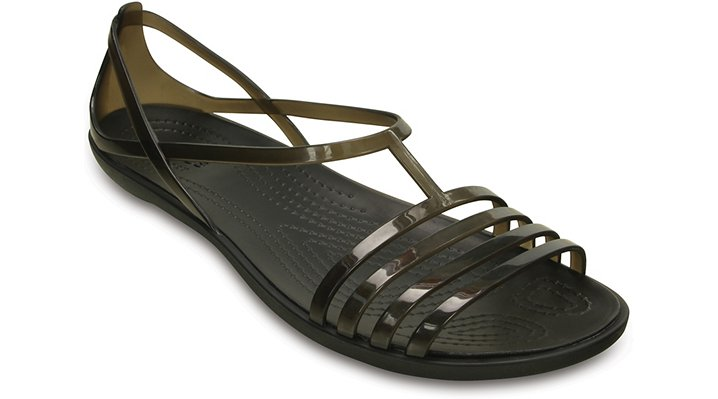 Crocs Black Women'S Crocs Isabella Sandal Shoes