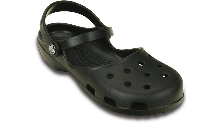 Crocs Black Women'S Crocs Karin Clog Shoes